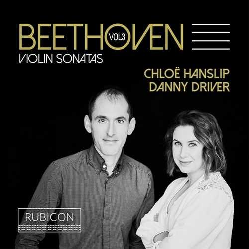 Hanslip, Driver: Beethoven - Violin Sonatas vol.3 (24/96 FLAC)
