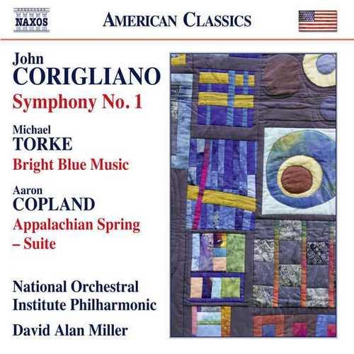 Miller: Corigliano - Symphony no.1, Torke - Bright Blue Music, Copland - Appalachian Spring (24/96 FLAC)