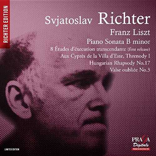 Richter: Liszt - Piano Sonata in B minor, Etudes, Hungarian Rhapsody no.17 (SACD)