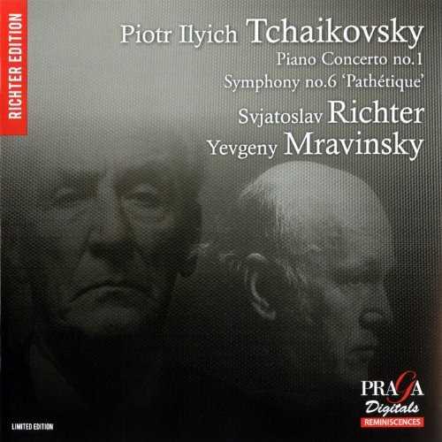 Richter, Mravinsky: Tchaikovsky - Piano Concerto no.1, Symphony no.6 (SACD)