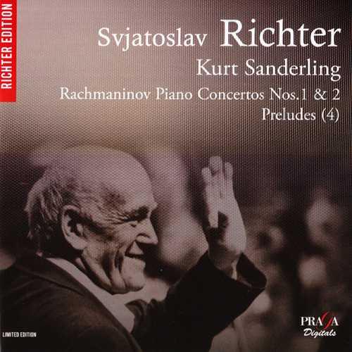 Richter, Sanderling: Rachmaninov - Piano Concertos no.1, 2 (SACD)