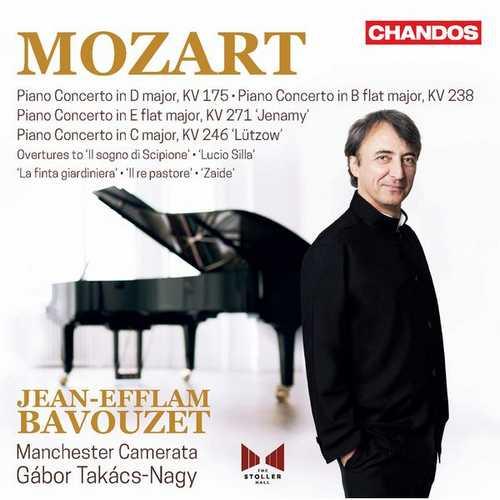 Bavouzet, Takacs-Nagy: Mozart - Piano Concertos vol.5 (24/96 FLAC)