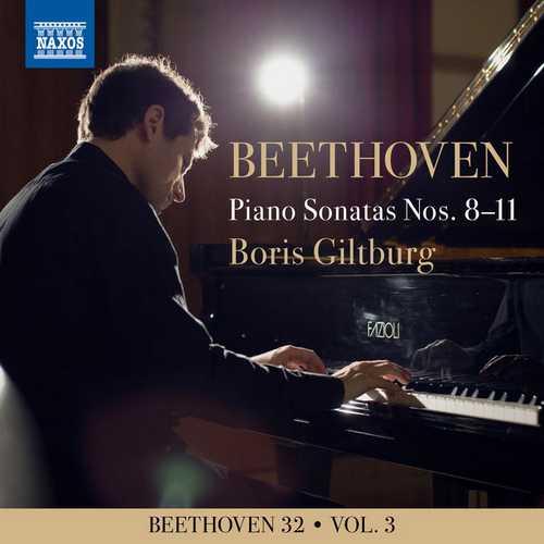 Boris Giltburg - Beethoven 32 vol.3. Piano Sonatas Nos. 8-11 (24/96 FLAC)
