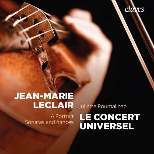 Jean-Marie Leclair - A Portrait, Sonatas and Dances (24/88 FLAC)