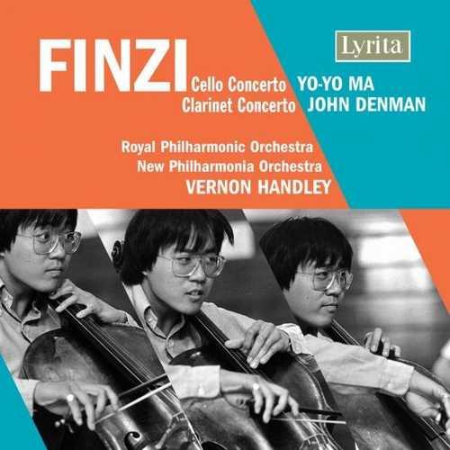 Ma, Denman, Handley: Finzi - Cello Concerto op.40, Clarinet Concerto op.31 (24/96 FLAC)