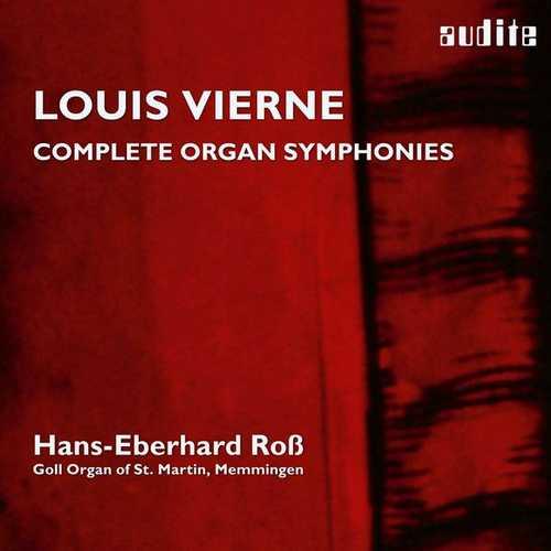 Ross: Louis Vierne - Organ Symphonies op.14, 20 (24/44 FLAC)