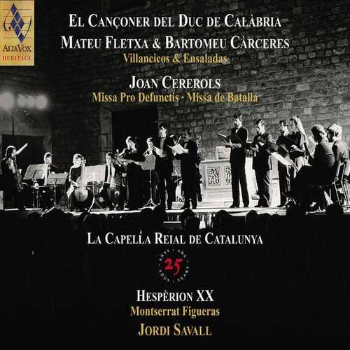 Savall: La Capella Reial de Catalunya (24/88 FLAC)