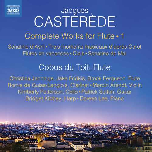 Cobus du Toit: Jacques Castérède - Complete Works for Flute vol.1 (24/96 FLAC)
