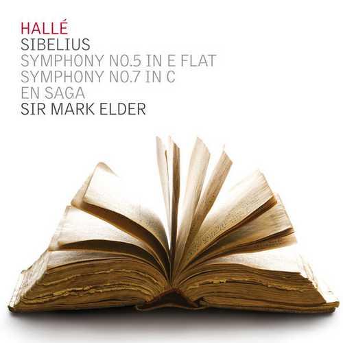Elder, Hallé: Sibelius - Symphonies no.5, 7, En Saga (24/44 FLAC)