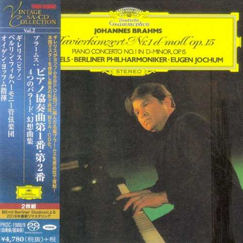 Gilels, Jochum: Brahms - Piano Concerto no.1 & 2, Ballades, Fantasias (SACD)