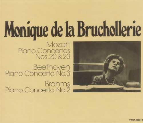 Monique de la Bruchollerie: Mozart, Beethoven, Brahms - Piano Concertos (SACD)