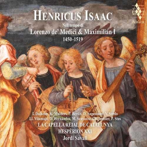 Savall: Henricus Isaac - Nell tempo di Lorenzo de' Medici & Maximilan I (24/88 FLAC)
