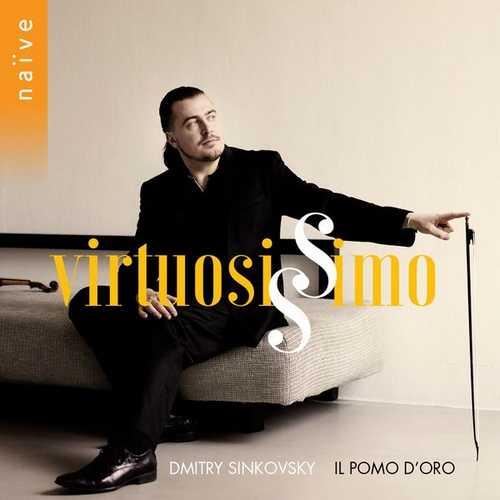 Dmitry Sinkovsky, Il Pomo d'Oro - Virtuosissimo (24/88 FLAC)