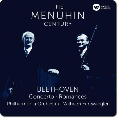 The Menuhin Century: Beethoven - Concerto, Romances (24/96 FLAC)