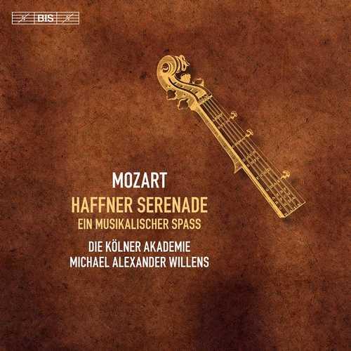Willens: Mozart - Haffner Serenade, Ein musikalischer Spass (24/96 FLAC)
