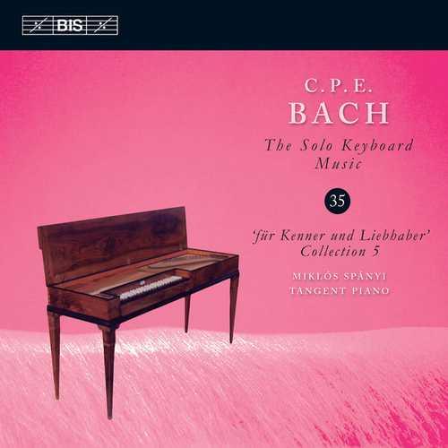 C.P.E. Bach - The Solo Keyboard Music vol.35 (24/96 FLAC)