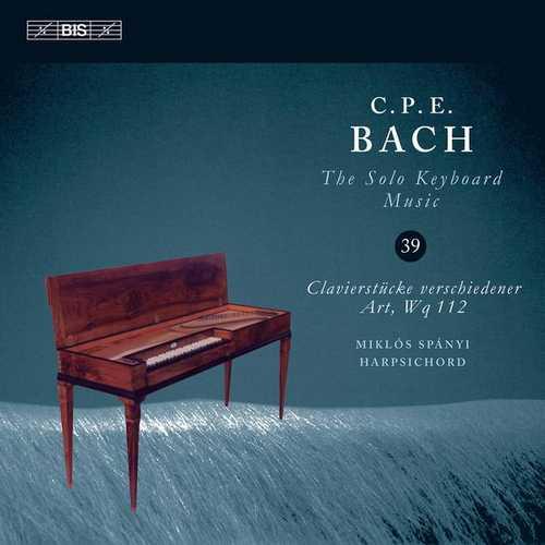 C.P.E. Bach - The Solo Keyboard Music vol.39 (24/96 FLAC)
