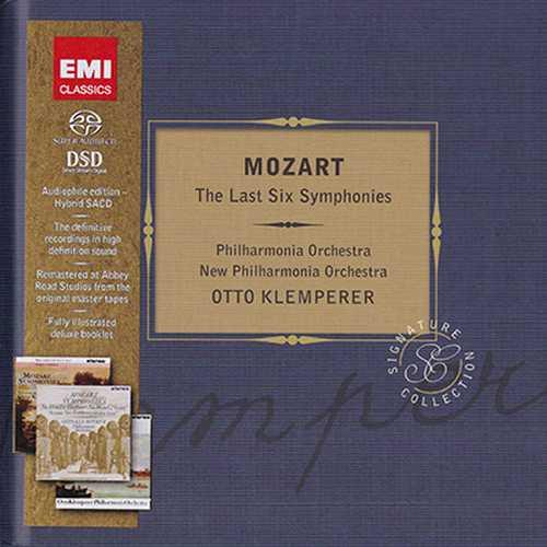 Klemperer: Mozart - The Last Six Symphonies (SACD)