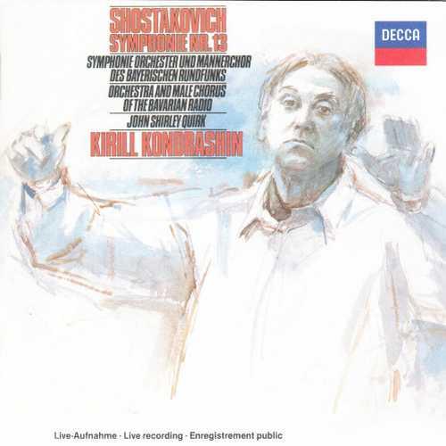 Kondrashin: Shostakovich - Symphony no.13 (SACD)