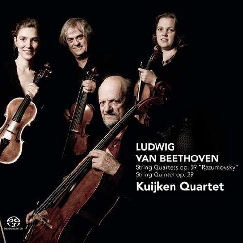 Kuijken Quartet: Beethoven - String Quartets op.59, String Quintet op.29 (DSD)
