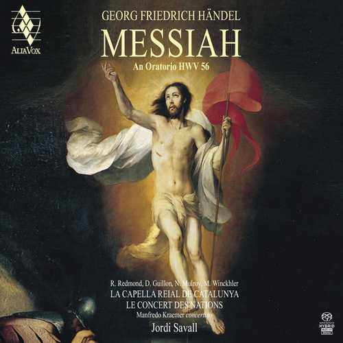 Savall: Handel - The Messiah. An Oratotio HWV56 (24/88 FLAC)