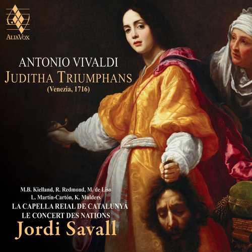 Savall: Vivaldi - Juditha Triumphans (24/88 FLAC)