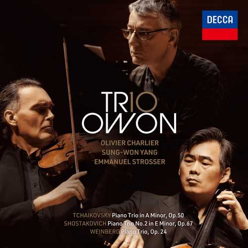 Trio Owon: Tchaikovsky, Shostakovich, Weinberg - Piano Trios (24/96 FLAC)