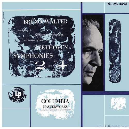 Walter: Beethoven - Symphonies no.2 & 4. Remastered (24/96 FLAC)