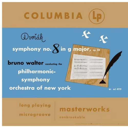 Walter: Dvořák - Symphony no.8, Slavonic Dance, Barber - Symphony no.1. Remastered (24/96 FLAC)