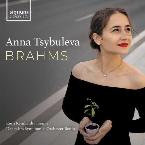 Anna Tsybuleva: Brahms (24/96 FLAC)