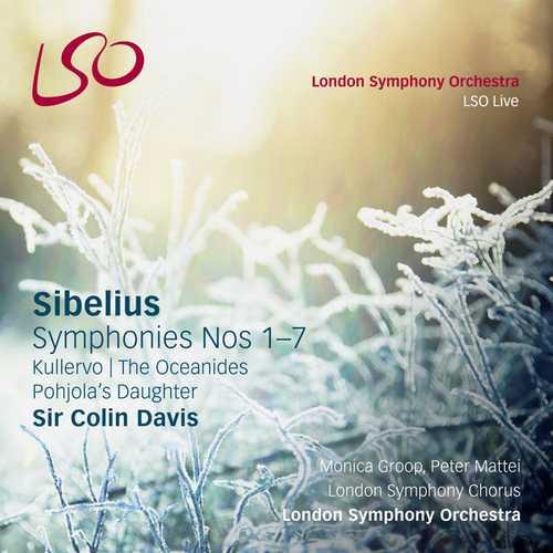 Davis: Sibelius - Symphonies no.1-7, Kullervo, Pohjola's Daughter, The Oceanides (24/96 FLAC)
