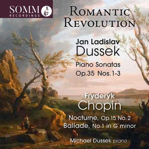 Dussek: Dussek - Piano Sonatas op.35, Chopin - Nocturne, Ballade (24/88 FLAC)