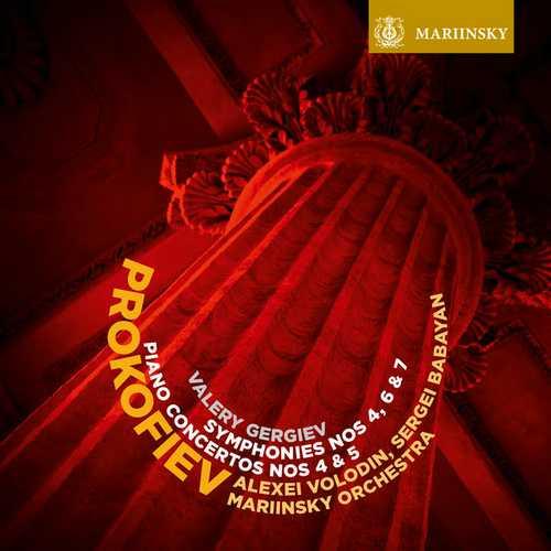 Matsuev, Gergiev: Prokofiev - Symphonies no.4, 6 & 7, Piano Concertos no.4 & 5 (24/48 FLAC)