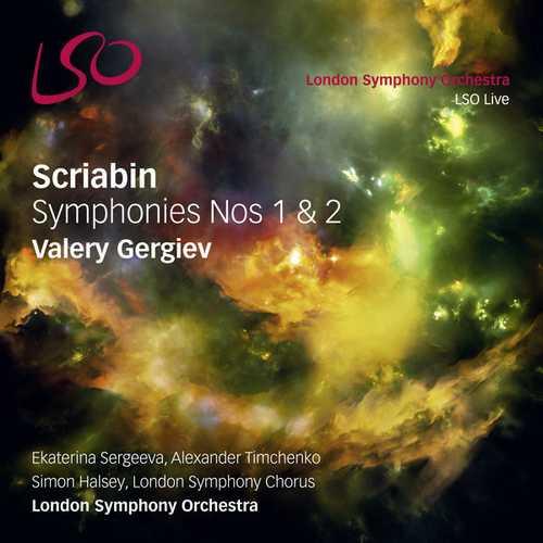 Gergiev: Scriabin - Symphonies no.1 & 2 (24/96 FLAC)