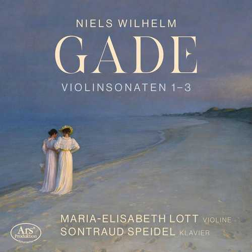 Lott, Speidel: Gade - Violin Sonatas no.1-3 (24/48 FLAC)