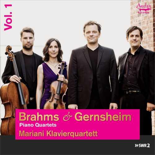Mariani Klavierquartett: Brahms, Gernsheim - Piano Quartets vol.1 (24/48 FLAC)