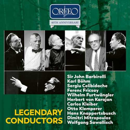 Orfeo 40th Anniversary: Legendary Conductors (FLAC)
