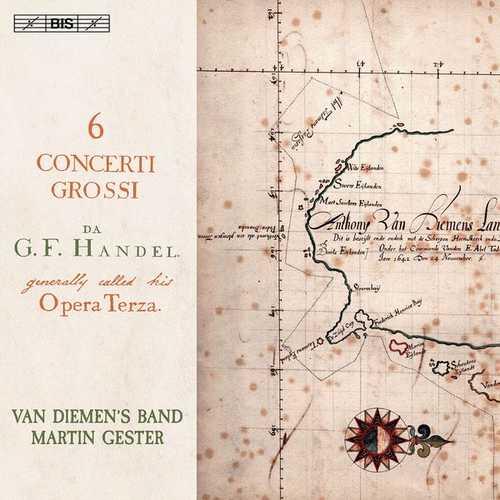 Van Diemen's Band, Gester: Handel - 6 Concerti Grossi op.3 (24/96 FLAC)