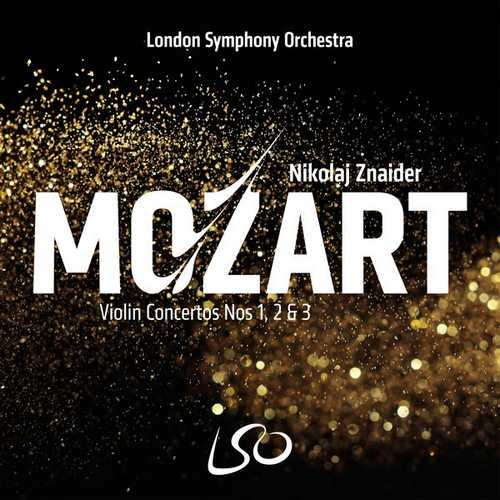Znaider: Mozart - Violin Concertos no.1, 2 & 3 (24/96 FLAC)