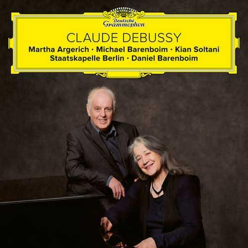 Argerich, Barenboim, Soltani: Claude Debussy (24/48 FLAC)