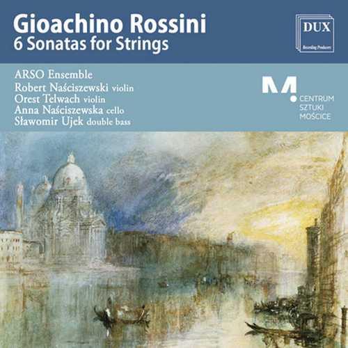 Arso Ensemble: Rossini - 6 Sonatas for Strings (FLAC)