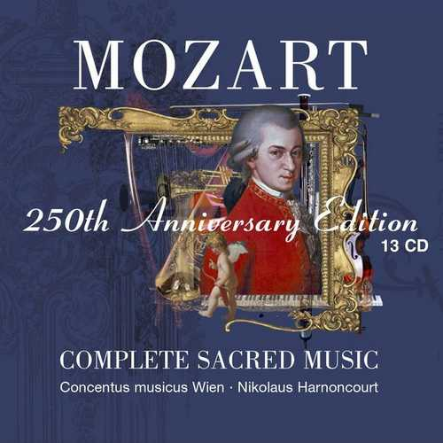 Mozart - 250th Anniversary Edition. Complete Sacred Music (FLAC)
