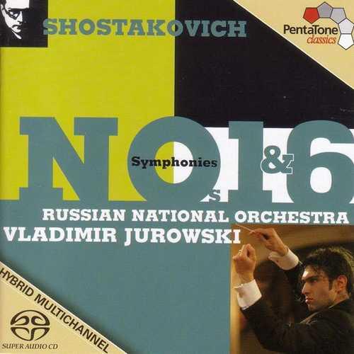 Jurowski: Shostakovich - Symphonies no.1 & 6 (24/192 FLAC)