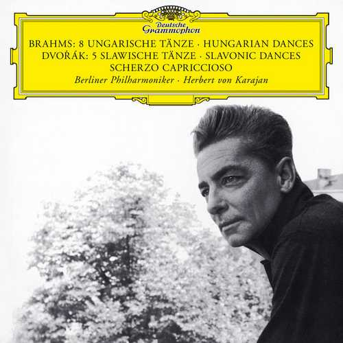 Karajan: Brahms - 8 Hungarian Dances, Dvořák - 5 Slavonic Dances, Scherzo Capriccioso (24/96 FLAC)