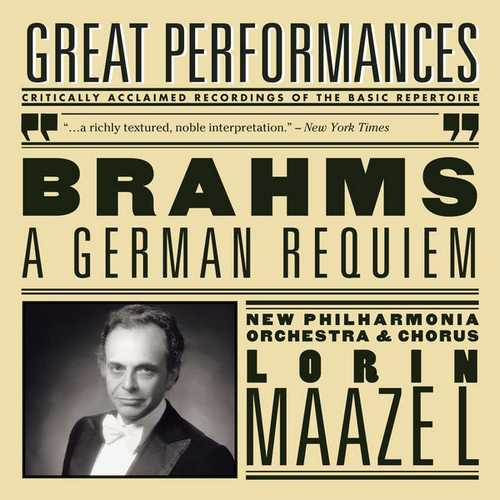 Maazel: Brahms - A German Requiem (FLAC)