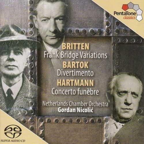 Nikolić: Britten - Franck Bridge Variations, Bartók - Divertimento, Hartmann - Concerto Funèbre (24/96 FLAC)