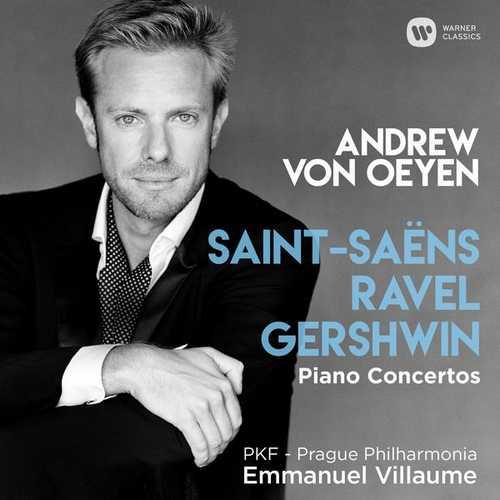 Oeyen: Saint-Saëns, Ravel, Gershwin - Piano Concertos (24/44 FLAC)