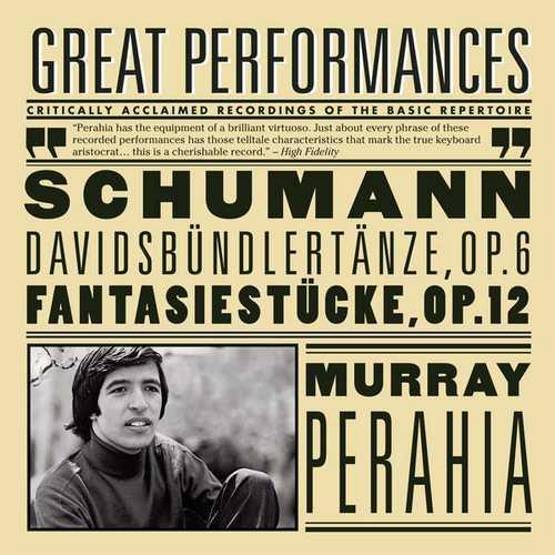 Perahia: Schumann - Davidsbündlertänze op.6, Fantasiestücke op.12 (FLAC)