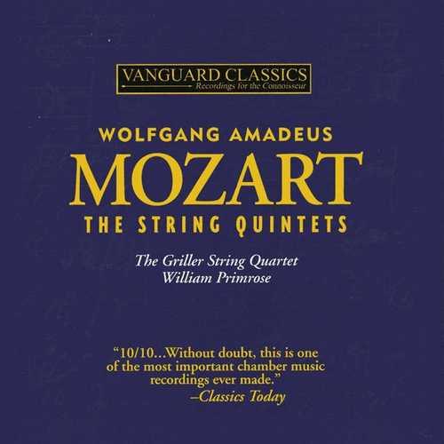 Primrose: Mozart - Complete String Quintets (FLAC)
