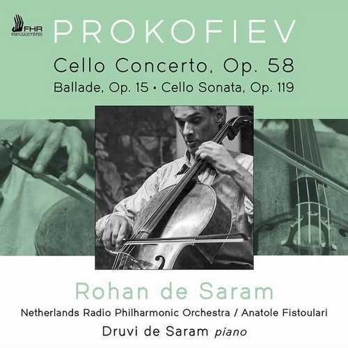 Saram: Andante from Cello Concerto op.58, Ballade, Cello Sonata op.119 (24/96 FLAC)
